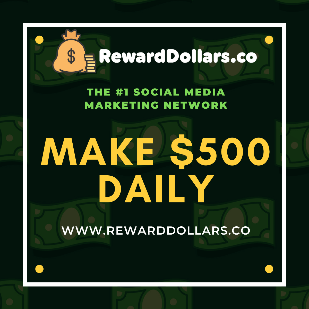 RewardDollars - #1 Social Media Earning Network For You